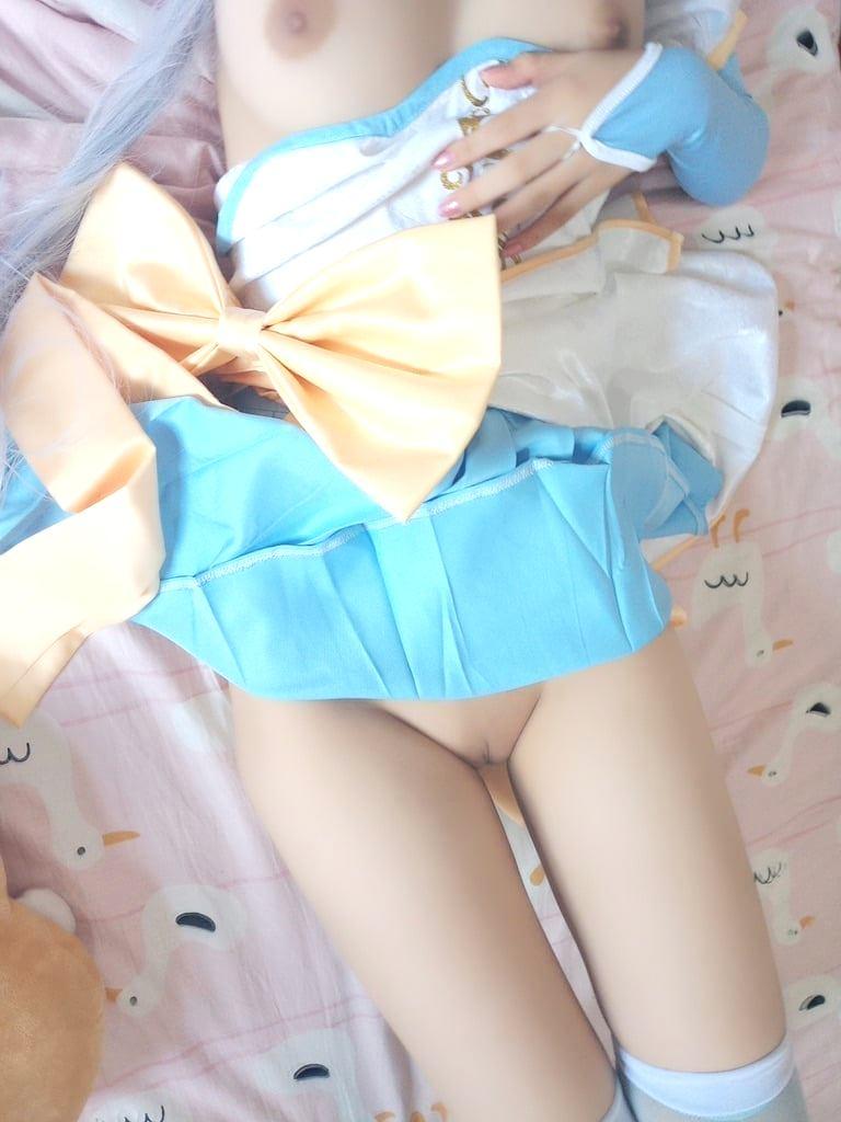 Sweet little concubine Shen Jiaojiao-Lolita cosplay girl.