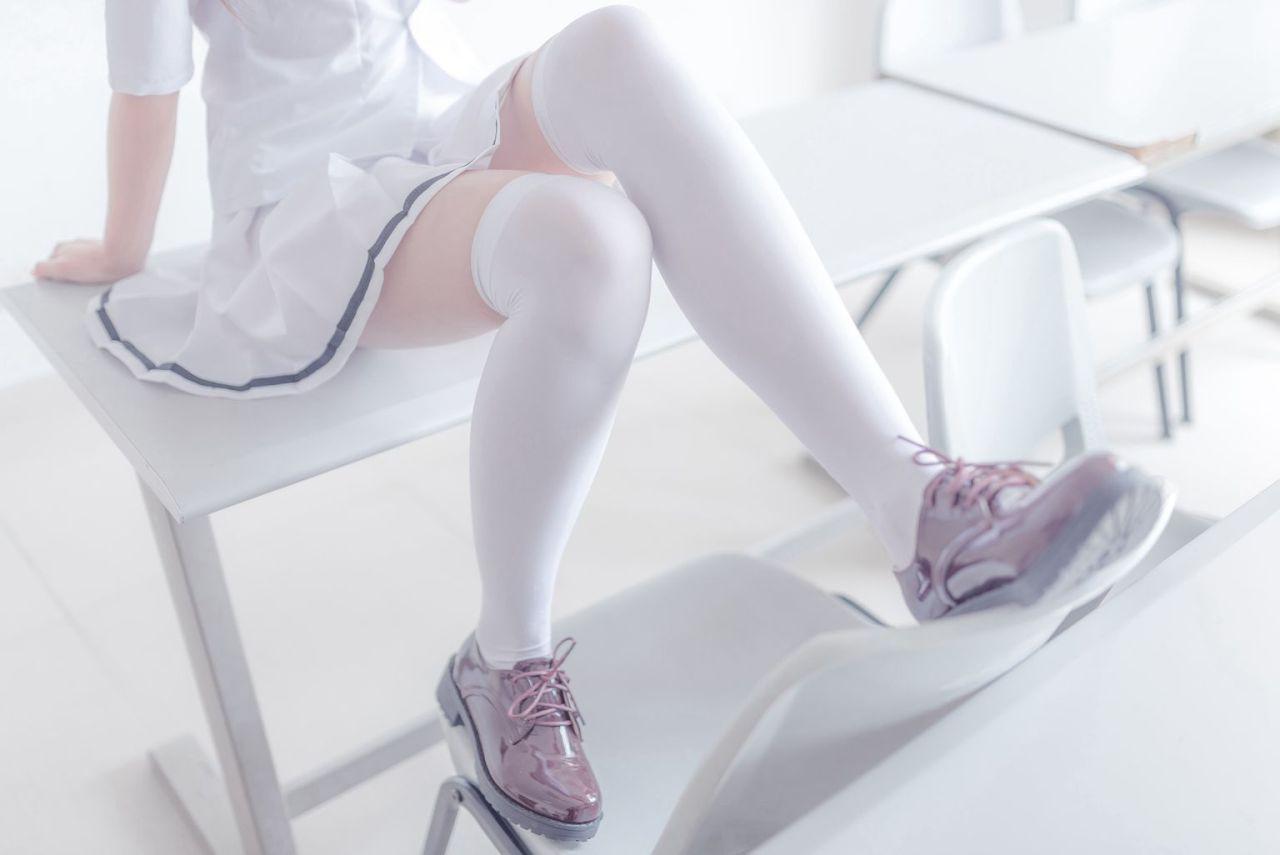 Wind Field 079-Long leg collection in school uniform-(41P)